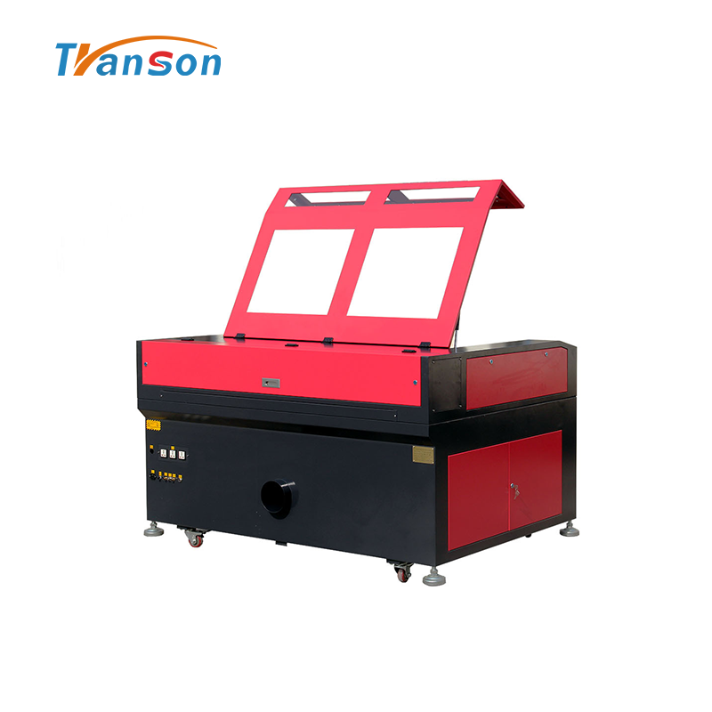 130W Co2 Laser Cutting Engraving Machine TN1390 with EFR F6 Tube used forwood paper acrylic leather plastic stone glass