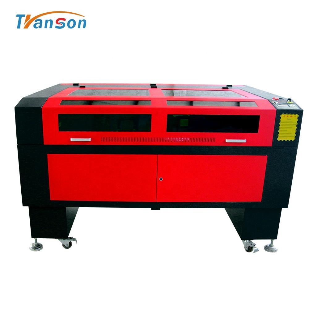 TS1490 Carbon Dioxide Laser Wide Sell Cutting Machines Engraver For Leather Chocolate Glass Plastic Bag