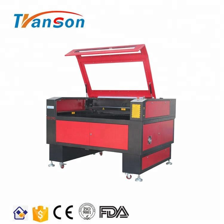 150w CO2 Laser Cutting Engraving Machine TS1290 with Reci W8 Tube used for d paper acrylic leather plastic stone glass