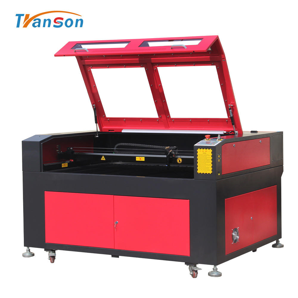 laser cutting leather Reci TN1390 Laser Engraver CO2 Machine For Cutting And Sculpture Durable