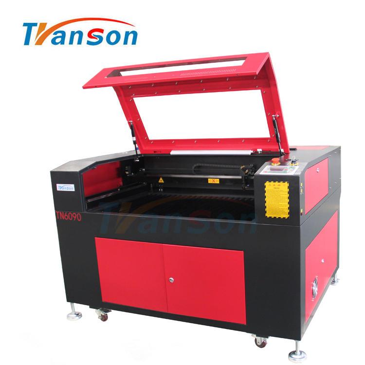 TN6090 CO2 laser Engraving Cutting Machine with Davi 70w Metal RF Laser Tube