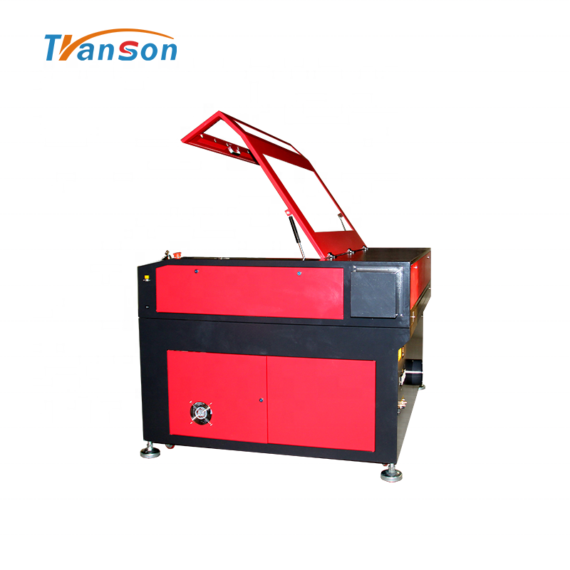 150W CO2 Laser Cutting Engraving Machine TN1290 with EFR F8 Tube used forwood paper acrylic leather plastic stone glass