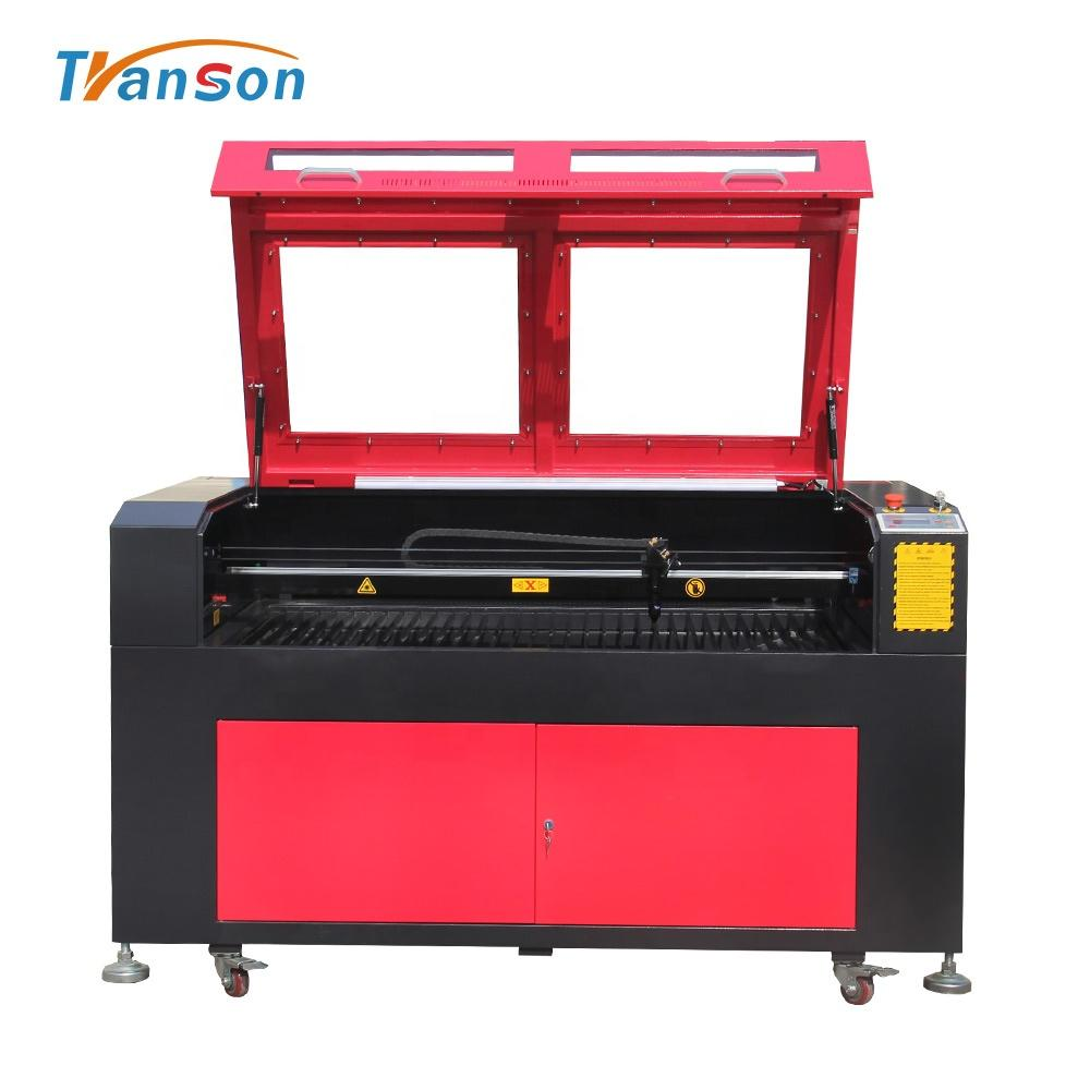 Transon Co2Laser Engraved Machine Good Laser Coconut Shell Glasses Cutting Machine For Equipment Factory
