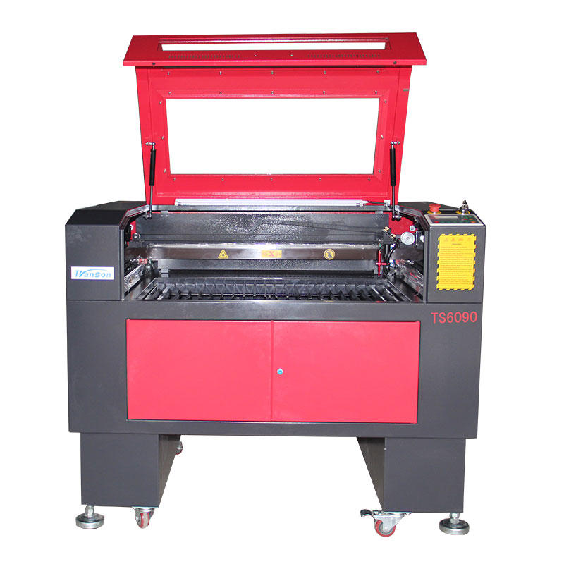 Transon CNC CO2 type small laser machine 6090 For Acrylia PVC PCB board F4 Tube