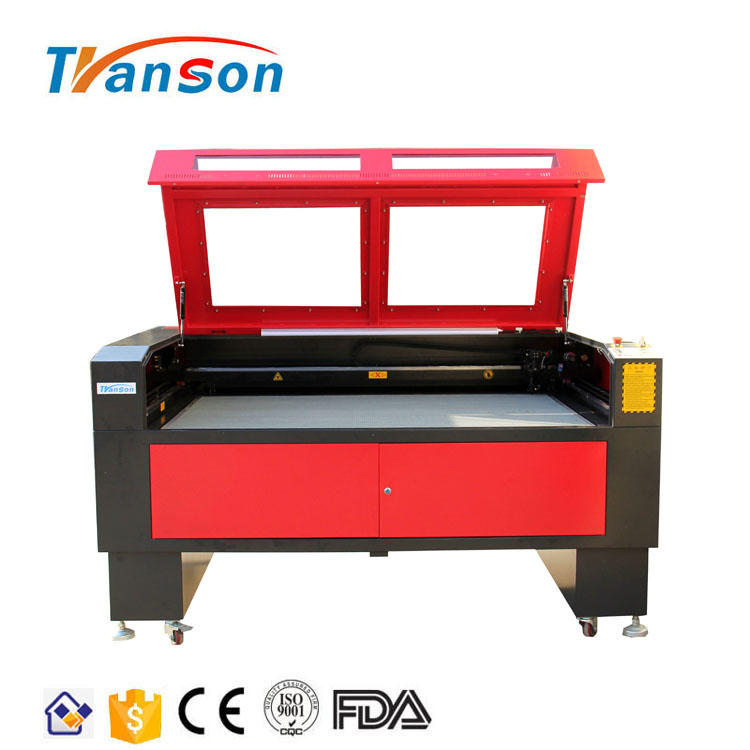 Acrylic Fabric Leather Crystal MDF Plywood TS CO2 90w Laser Engraving And Cutting Machine