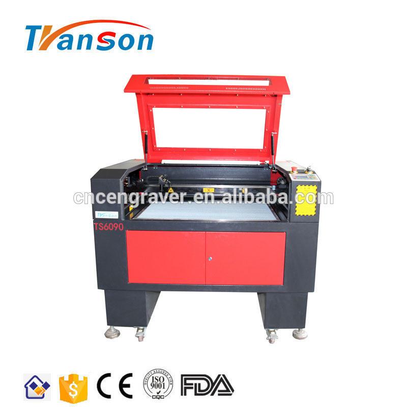 TS6090 Reci 100W CO2 Laser Engraving Cutting Machine Factory Price