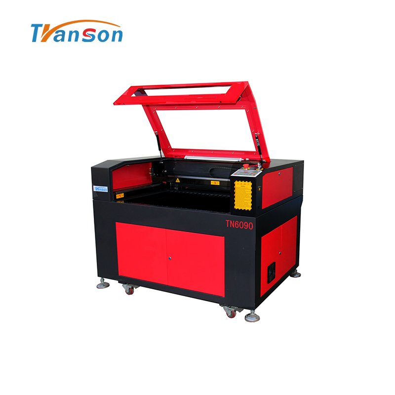 130w High Power CO2 Laser Cutting Engraving Machine TN6090 with Reci W6 Tube