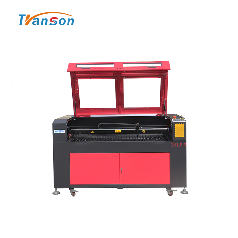 CO2 Laser Cutting Engraving Machine 1390 with CCD Camera Scan Function for Paper Fabric Cloth Leather