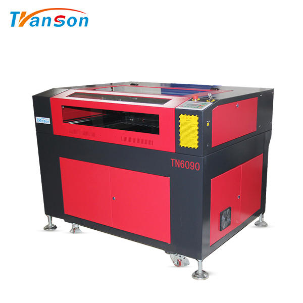 CO2 Laser Cutting Engraving Machine TN6090 for Nonemetal Wood Leather Paper Acrylic Mdf Fabric