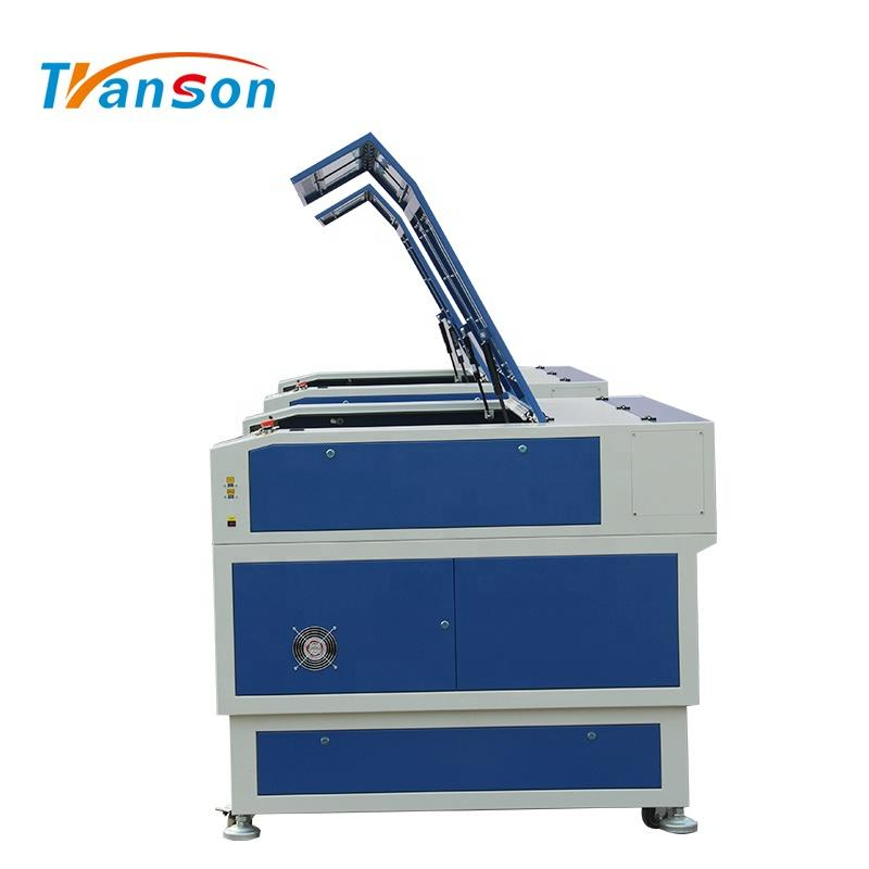 150W Co2 Laser Cutting Engraving Machine TS1390 with EFR F8 Tube used forwood paper acrylic leather plastic stone glass