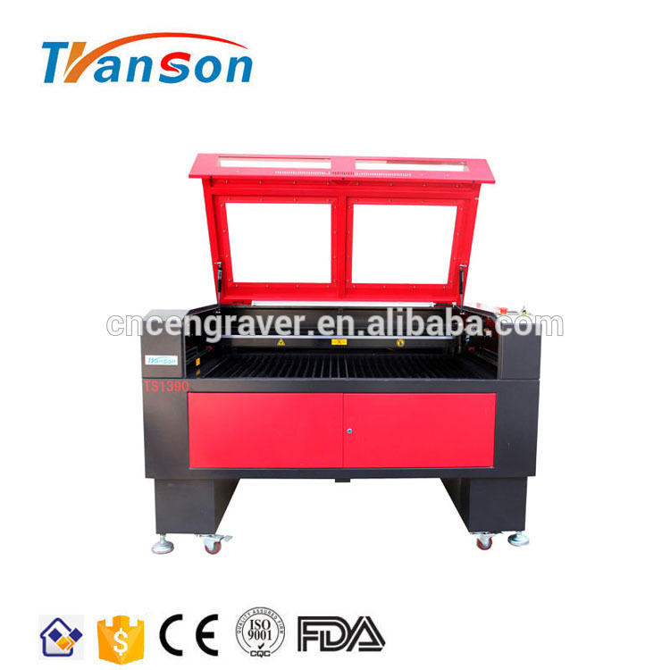 Transon Factory 1390 Reci 100-120W CNC CO2 Laser Engraving Cutting Machine With CE FDA
