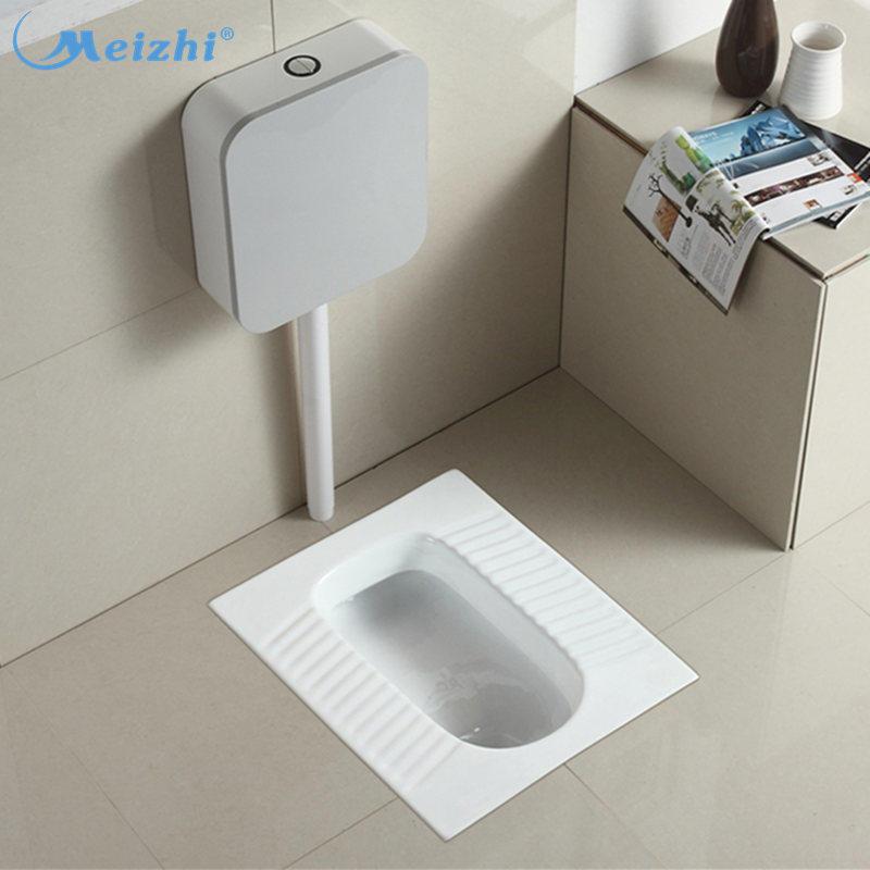 Ceramic wc pan squat toilet water closet