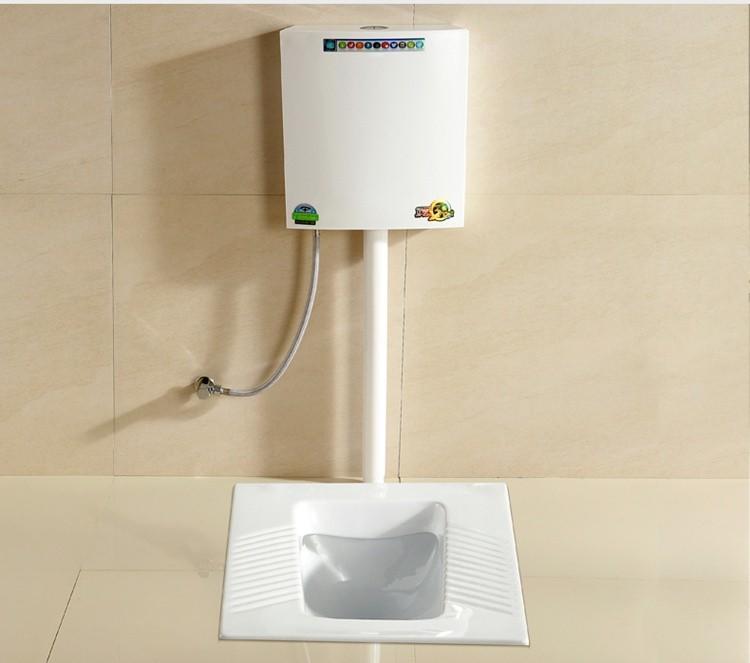 Bathroom water closet ceramic squatting pan