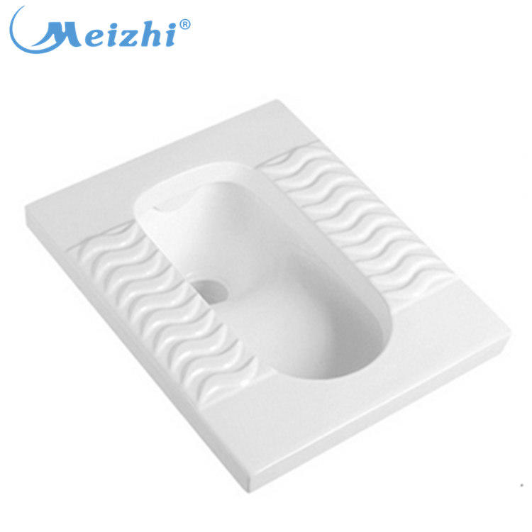 Wholesale Asian style ceramic white toilet squat pan