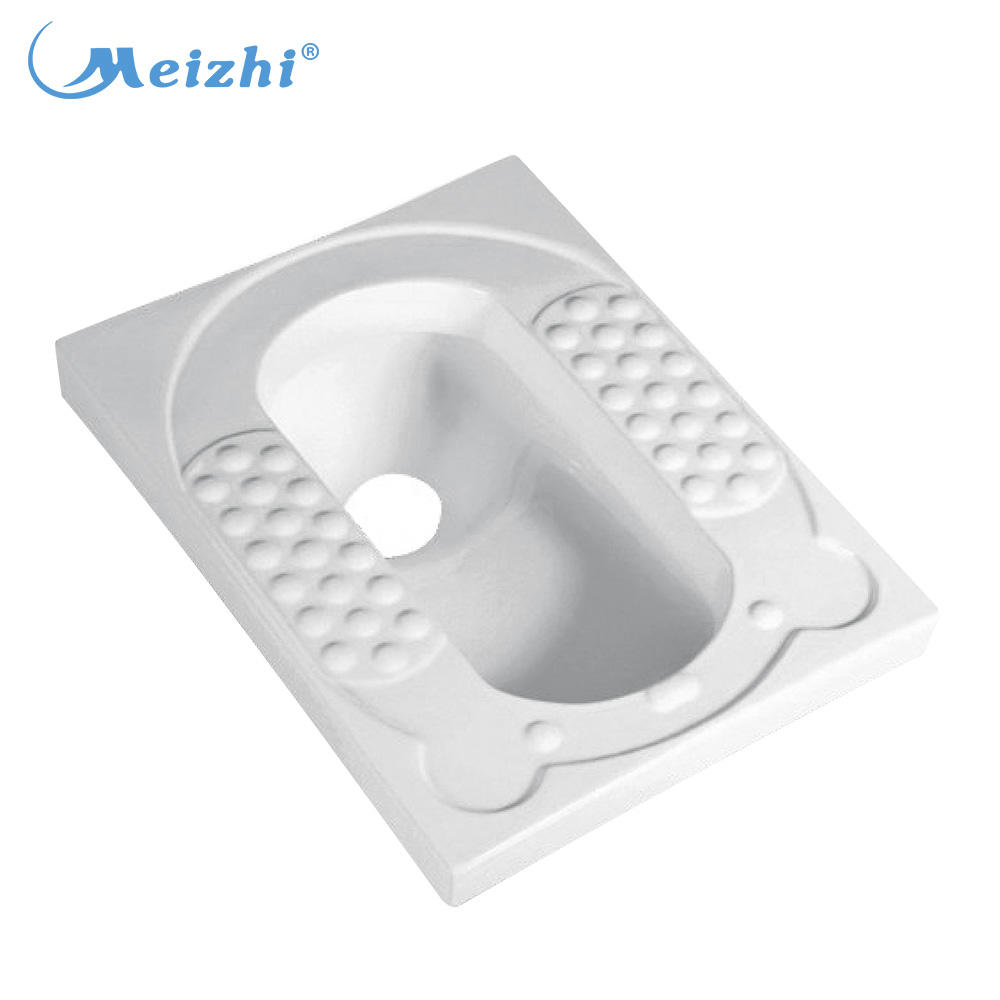 Cheap diamond ceramic squat toilet pan sizes