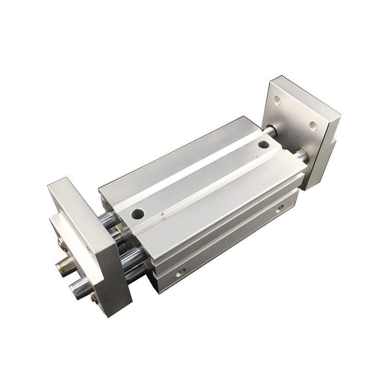 Aluminium Alloy MHL2 Series MHL2-10D2 MHL2-25D1 MHL2-40D2 Double Acting Air Gripper Pneumatic Cylinder