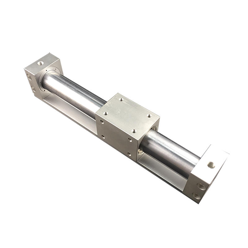 Magnetically Coupled CY1R32-200 CY1R50-300 Aluminium Alloy Rubber Bumpers Pneumatic Air Cylinder