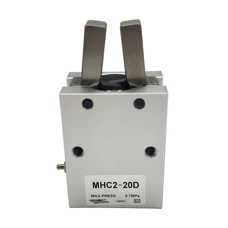 MHC2-20D Angular Type Air Gripper Double Acting Finger Pneumatic Cylinder