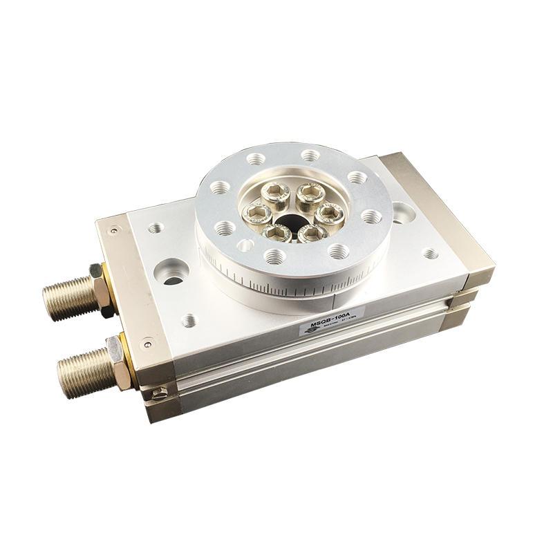 Pinion Style High Precision MSQ Series MSQB-20A MSQB-50A MSQB-100A Pneumatic Hydraulic Rotary Cylinder
