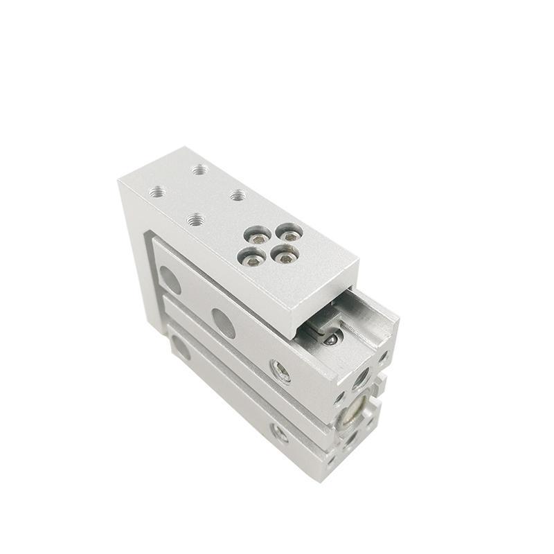 Aluminium Alloy MXH Series MXH6-10 MXH10-20 Compact Slide Double Acting Air Cylinder