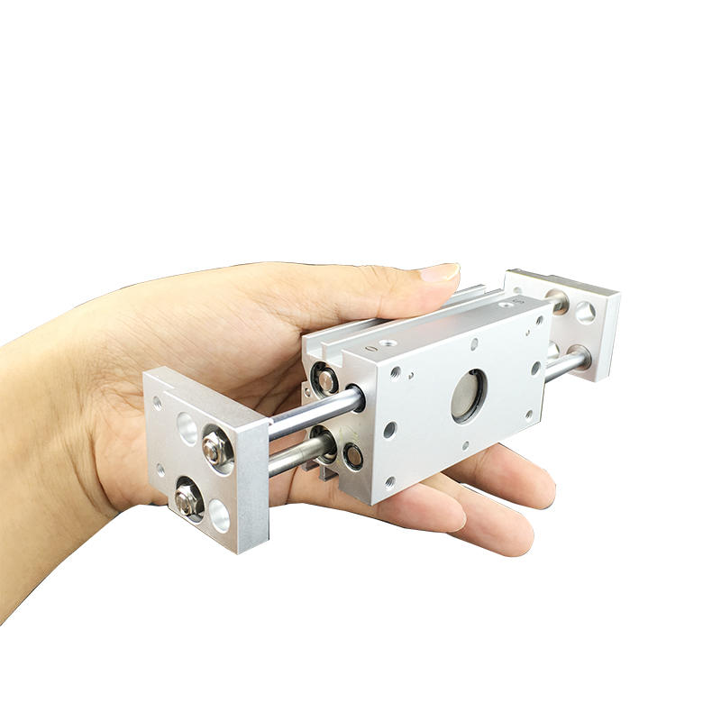 Aluminium Alloy MHL2 Series MHL2-10D2 MHL2-25D1 MHL2-40D2 Double Acting Air Gripper Pneumatic Cylinder