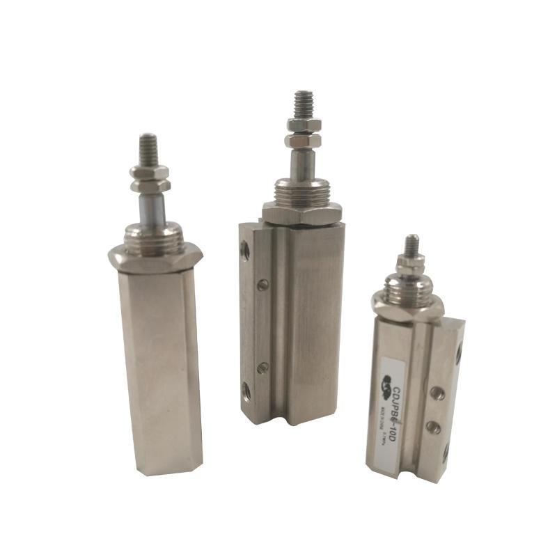 Aluminium Alloy Hydraulic CDJP Series CDJPB10-20D Pin Cylinder Double Acting Air Pneumatic Cylinder