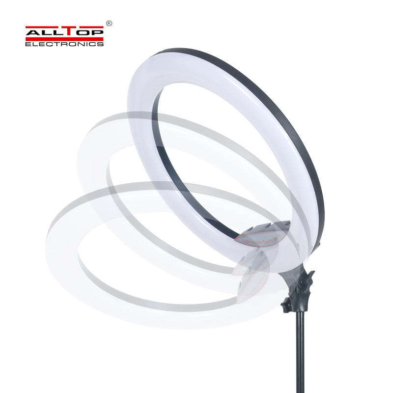 ALLTOP 18inch Video Makeup 3200-5600K 20W 416PCS Photography Selfie LED Ring Light with 2m Stand