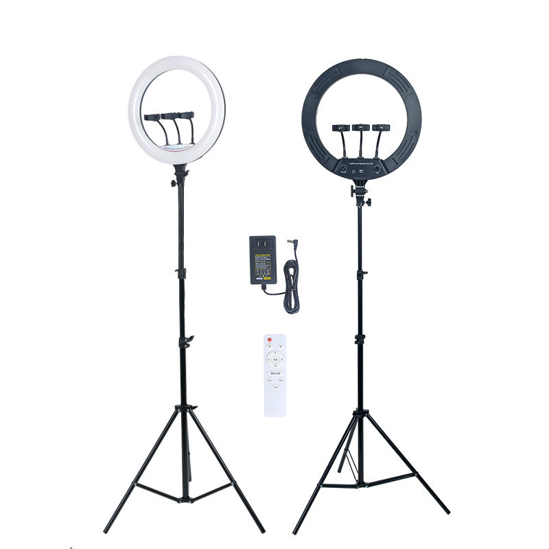 ALLTOP 18inch Ring Lamp with Tripod for Photography Makeup Studio Youtube Fill Light LED Ring Light