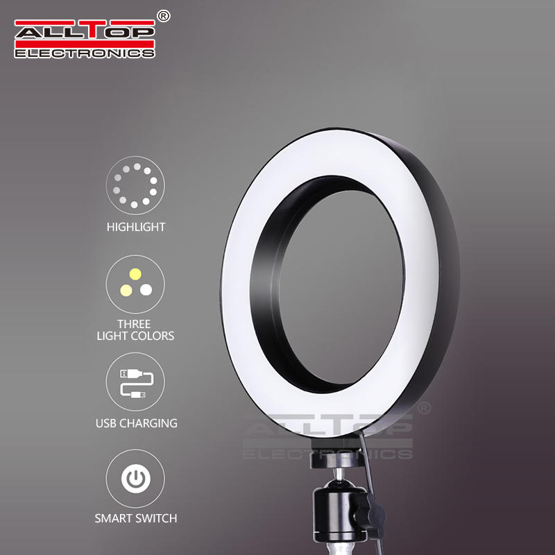 Photographic lighting kit beauty lamp 26cm / 10 Inch indoor selfie led ring light