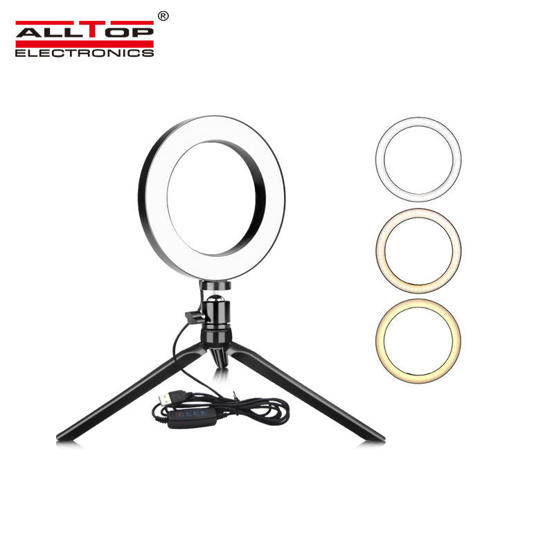 Professional adjusting led lights for photography studio led ring light