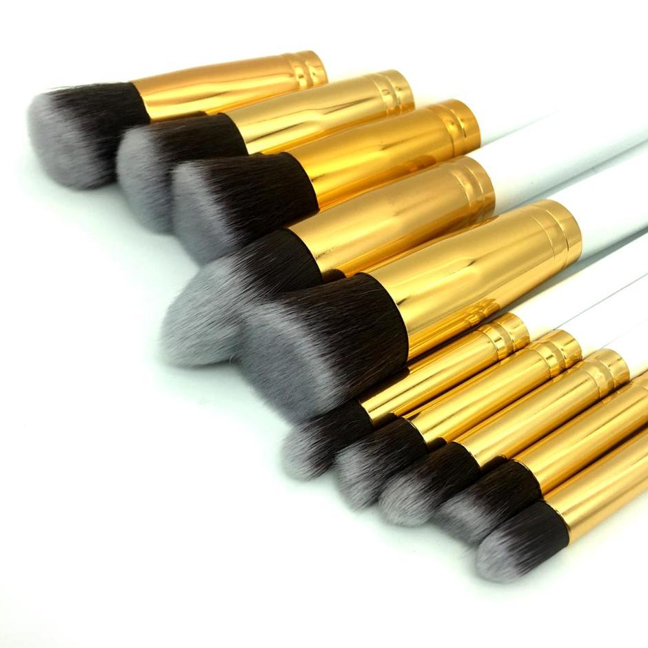 Hot selling 10pcs Glitter Set Makeup 7pcs Maquillaje Makeup Brush