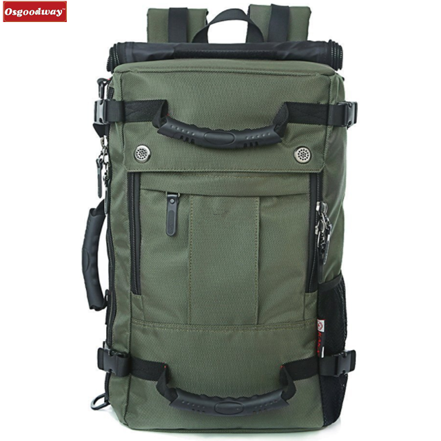 Osgoodway High Quality Wholesale Large Capacity Travel Laptop Backpack Rucksack Fits 15.6inch Carry On Bag