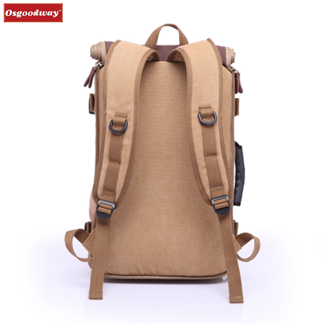 product-Osgoodway-Osgoodway New Products Stylish Large Capacity Waterproof Leather Hiking Travel Bac