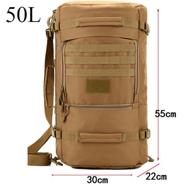product-Osgoodway-Osgoodway Multi-function Waterproof Nylon Military Tactical Travel Backpack Camouf