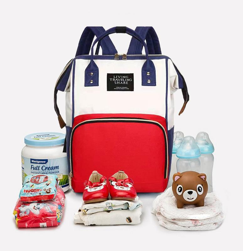 New Arrival Multi-Function Nylon Waterproof Mommy Baby Diaper bag Outdoor Travel Waterproof Portable baby Carrier Backpack bags