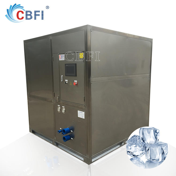 1 Ton Energy-saving Cube Ice Making Machine for Philippines