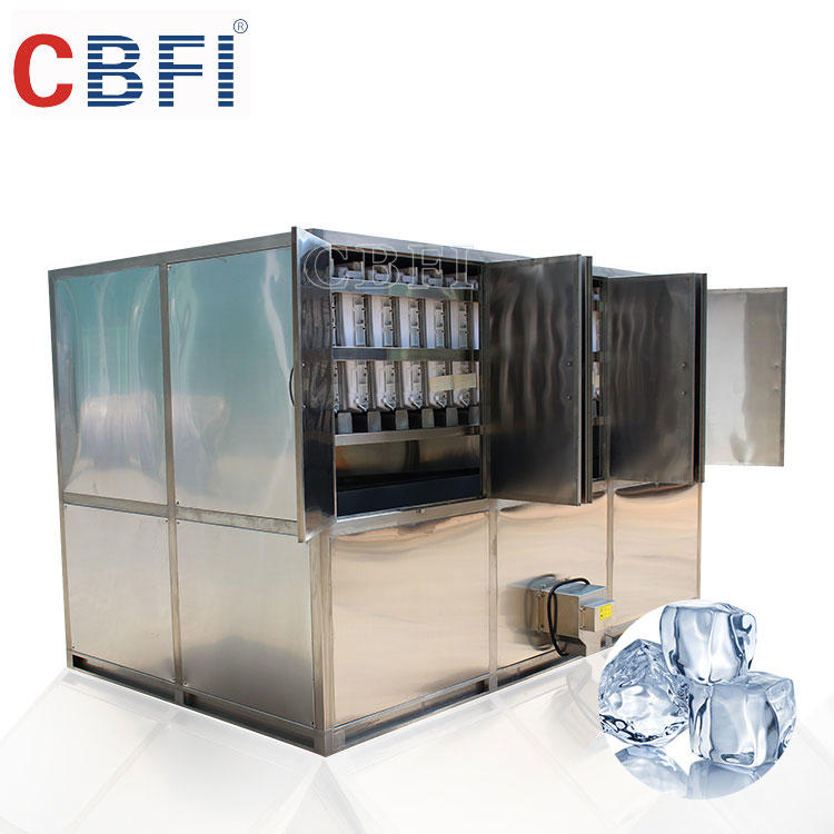 5000kg per day Ice Cube Machine CV5000 Edible and Sanitary for Bar and coffee Shops