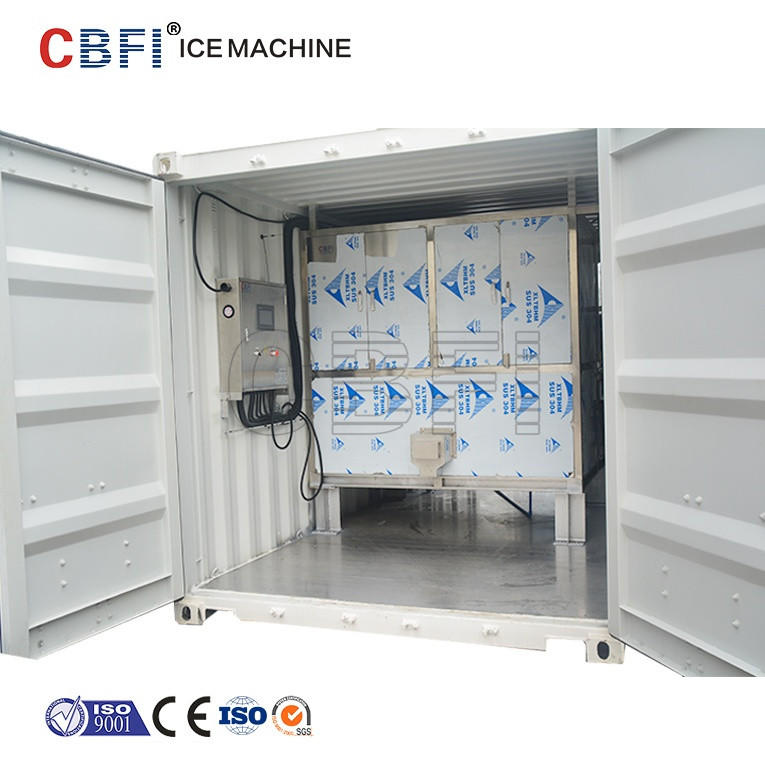 CBFI Big cube ice maker machine 3 ton 5 ton 10 ton per day for Singapore