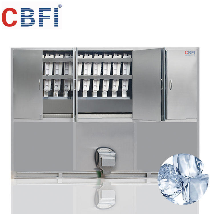 5 tons per day industrial automatic ice cube making machine manufacturer