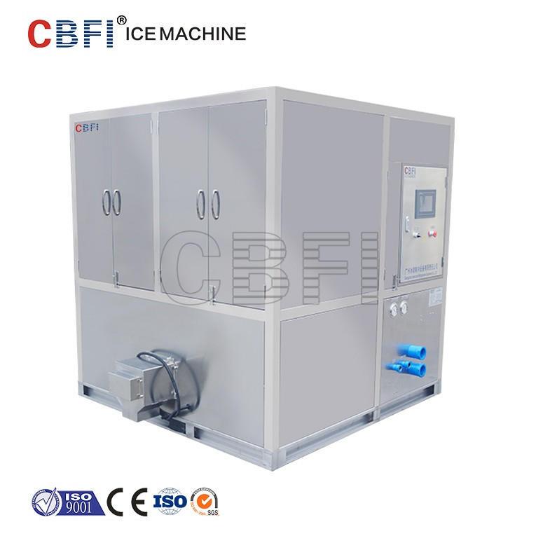 CBFI Cube ice plant 3 ton 5 ton 10 ton per day for Greece