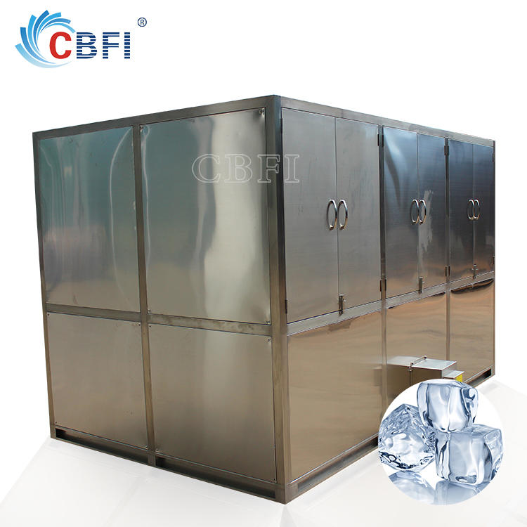 5000kg output ice cube maker machine,industrial industrial cube ice maker for sale