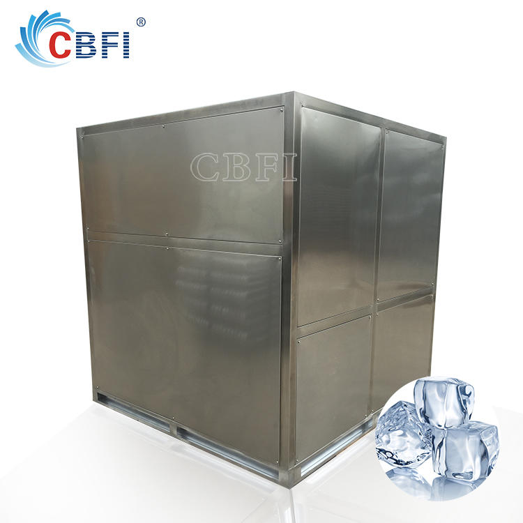 1 Ton Energy-saving Cube Ice Making Machine for Philippines