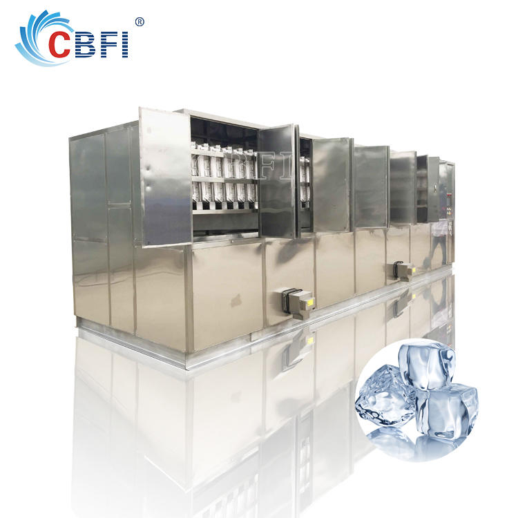 commercial cube ice making machine for cooling wine