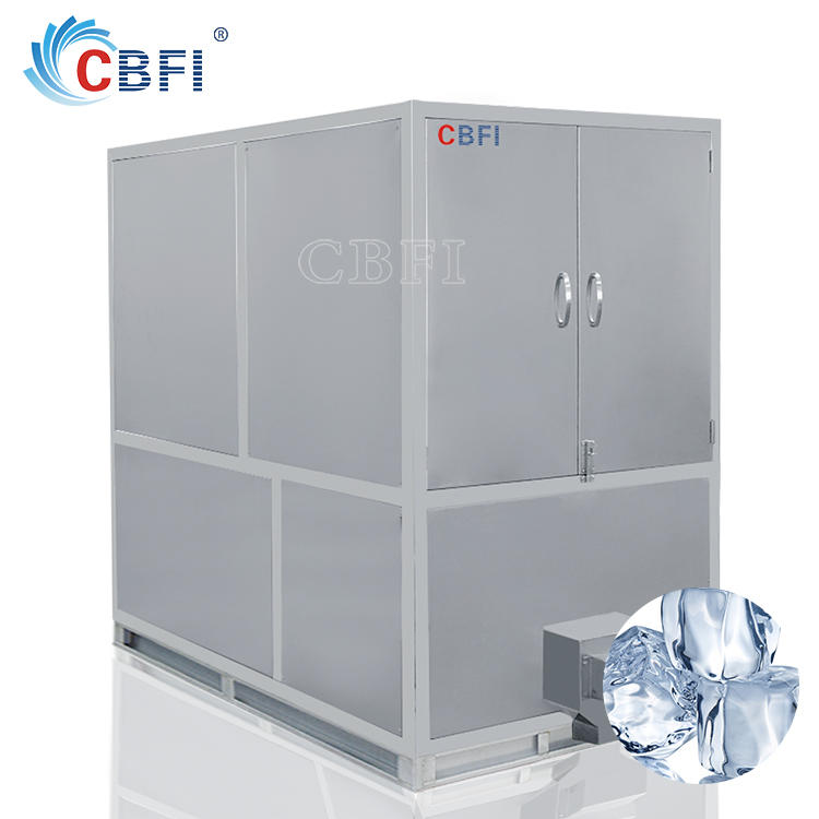 China Ice Making Machine Supplier CBFI High Quality Large Capacity Automatic Commercial Ice Cube Maker with Price List for Sale
