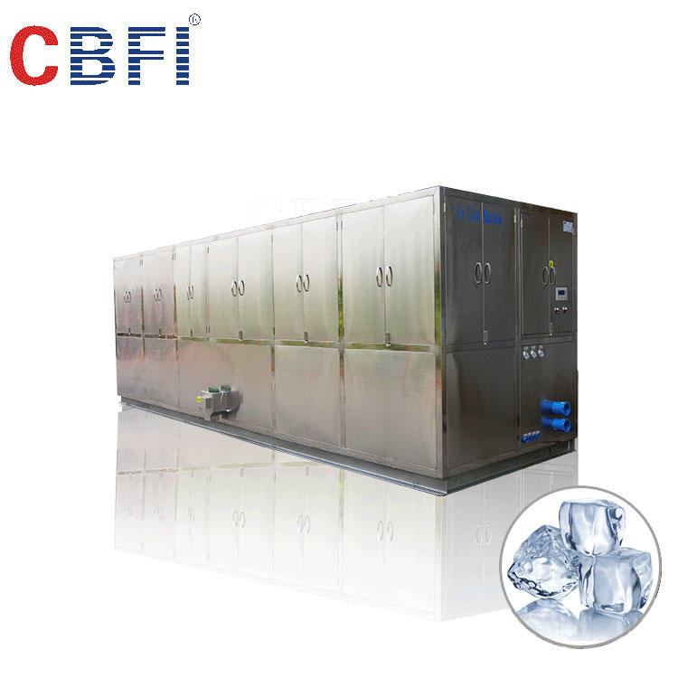 Large square ice cube maker for resorts,bars