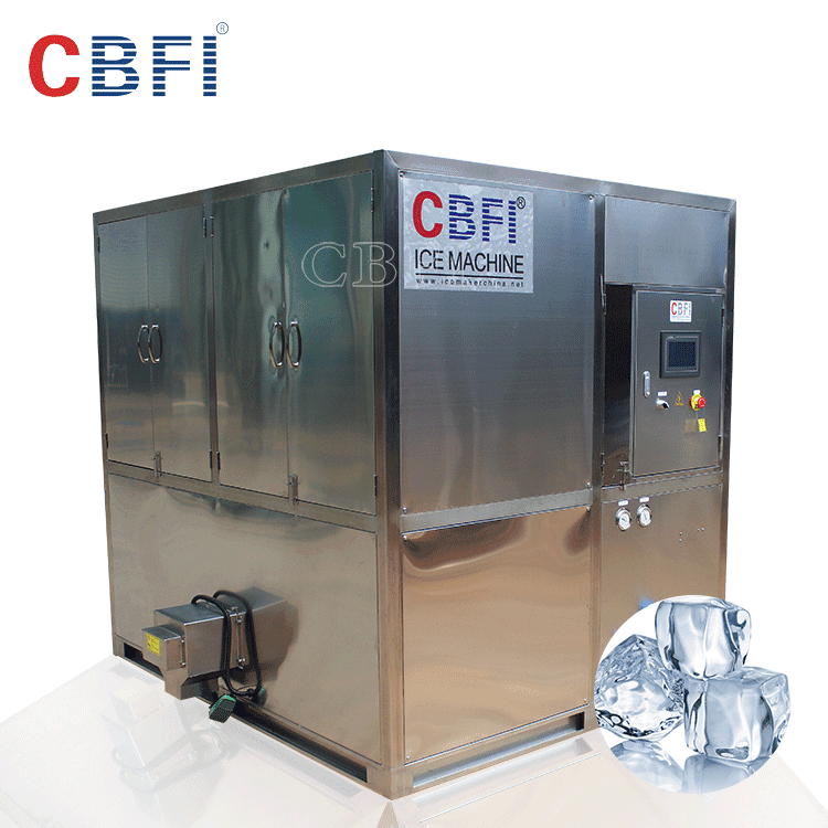industrial cube ice making machine in Dubai