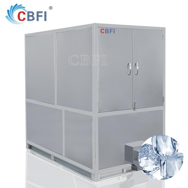 Edible cube ice maker for restaurant