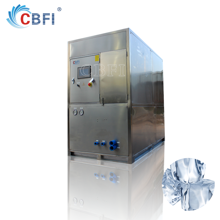 Large production Industrial Ice Cube Machine China supply for bars