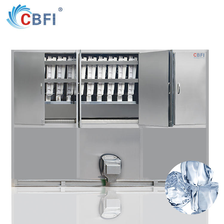 5 tons/day commercial Ice cube vending machine