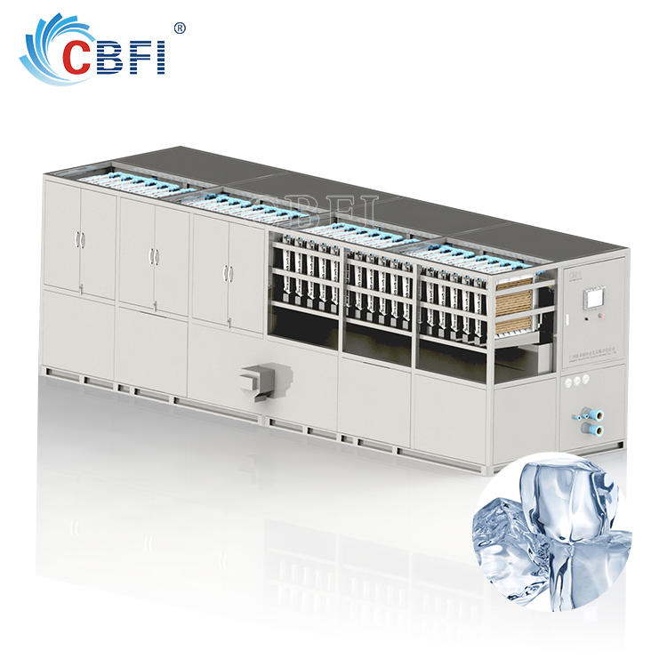 CBFI Large Enterprises Producing New Style Edible Ice Cube Plant
